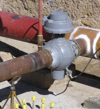 LA2329, Alinta Asset, Tie in pipe hydro & Site pics
