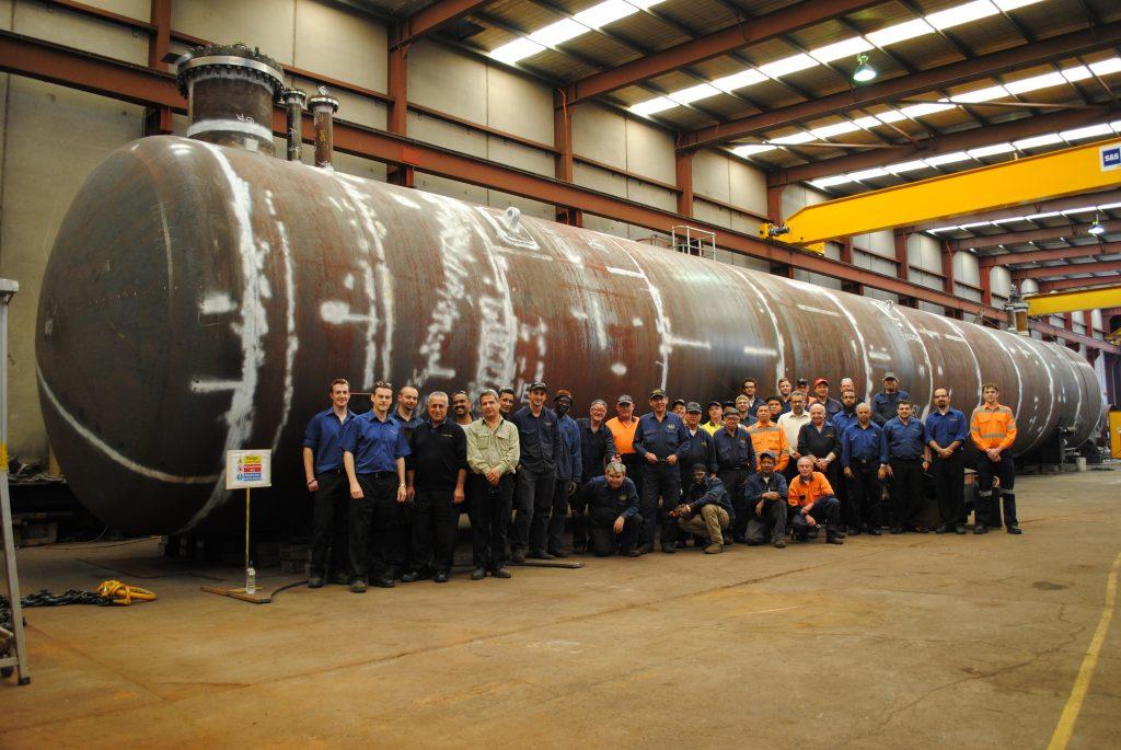 LA2909 - Origin, Vessel - 1022, Team at Hydro #1 (2012-10-24)
