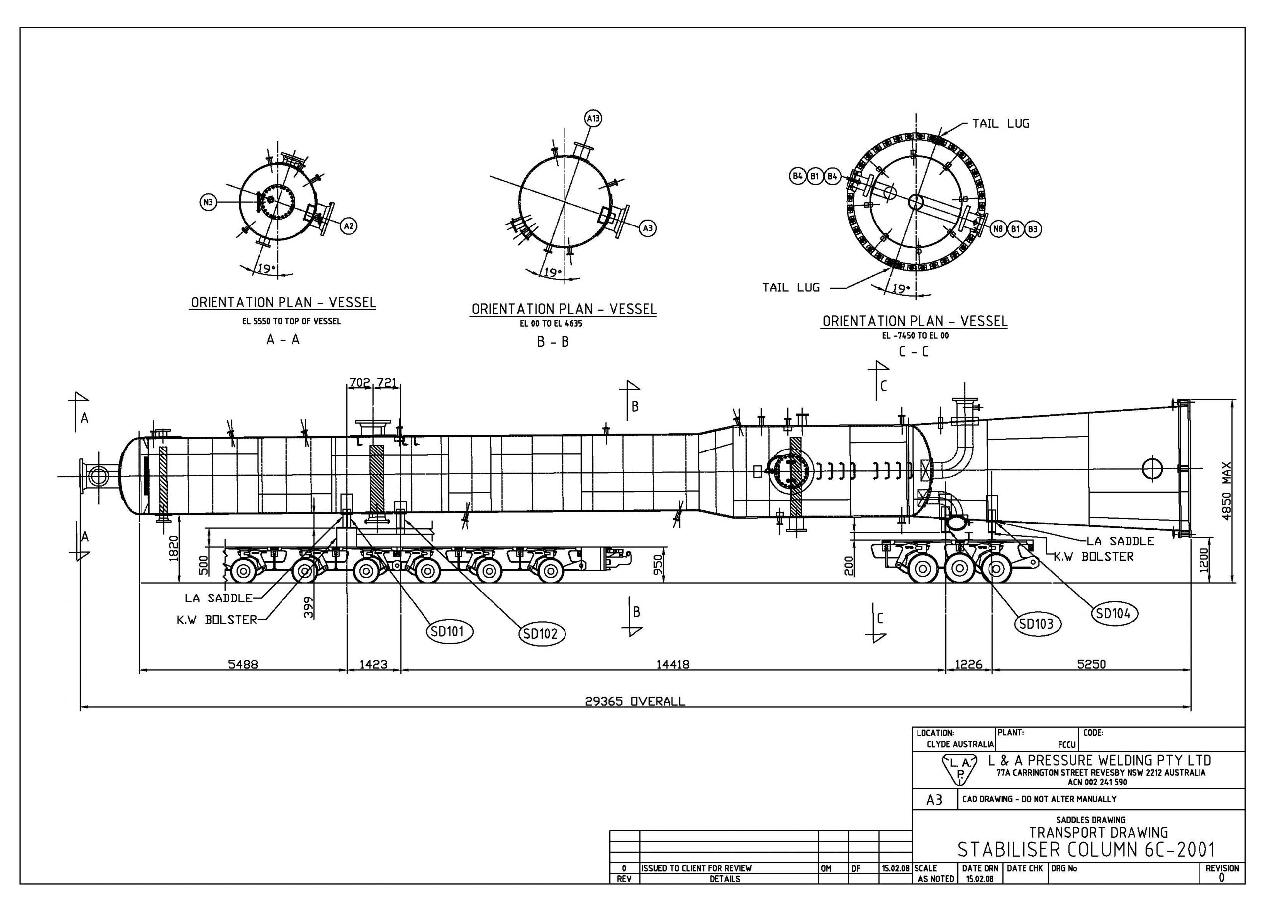Engineering - CAD, Transport #1 (from PDF)