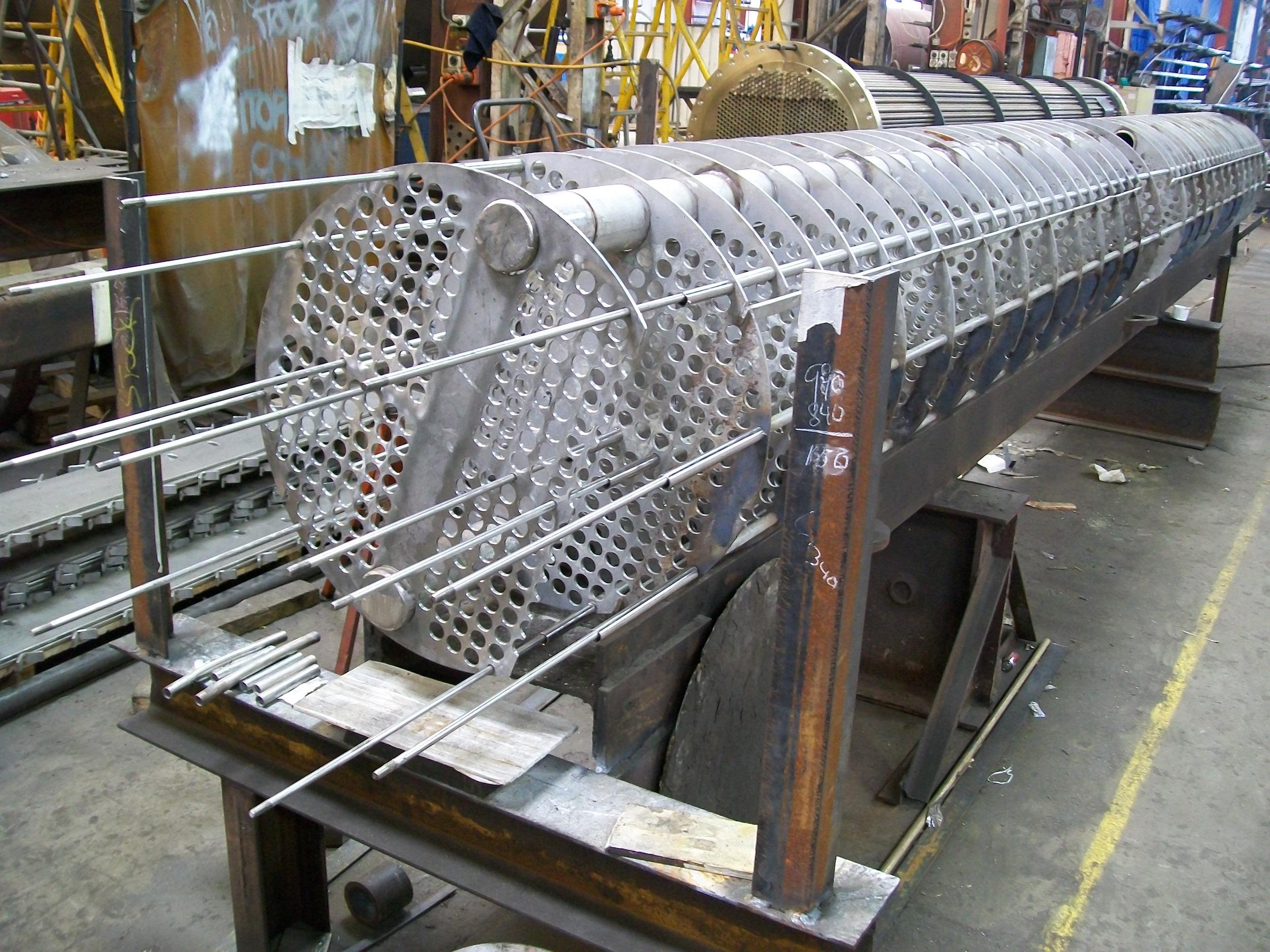 LA2620 - Qld Nickel, Re-tube - 3, Re-building cage (2010-09-10)