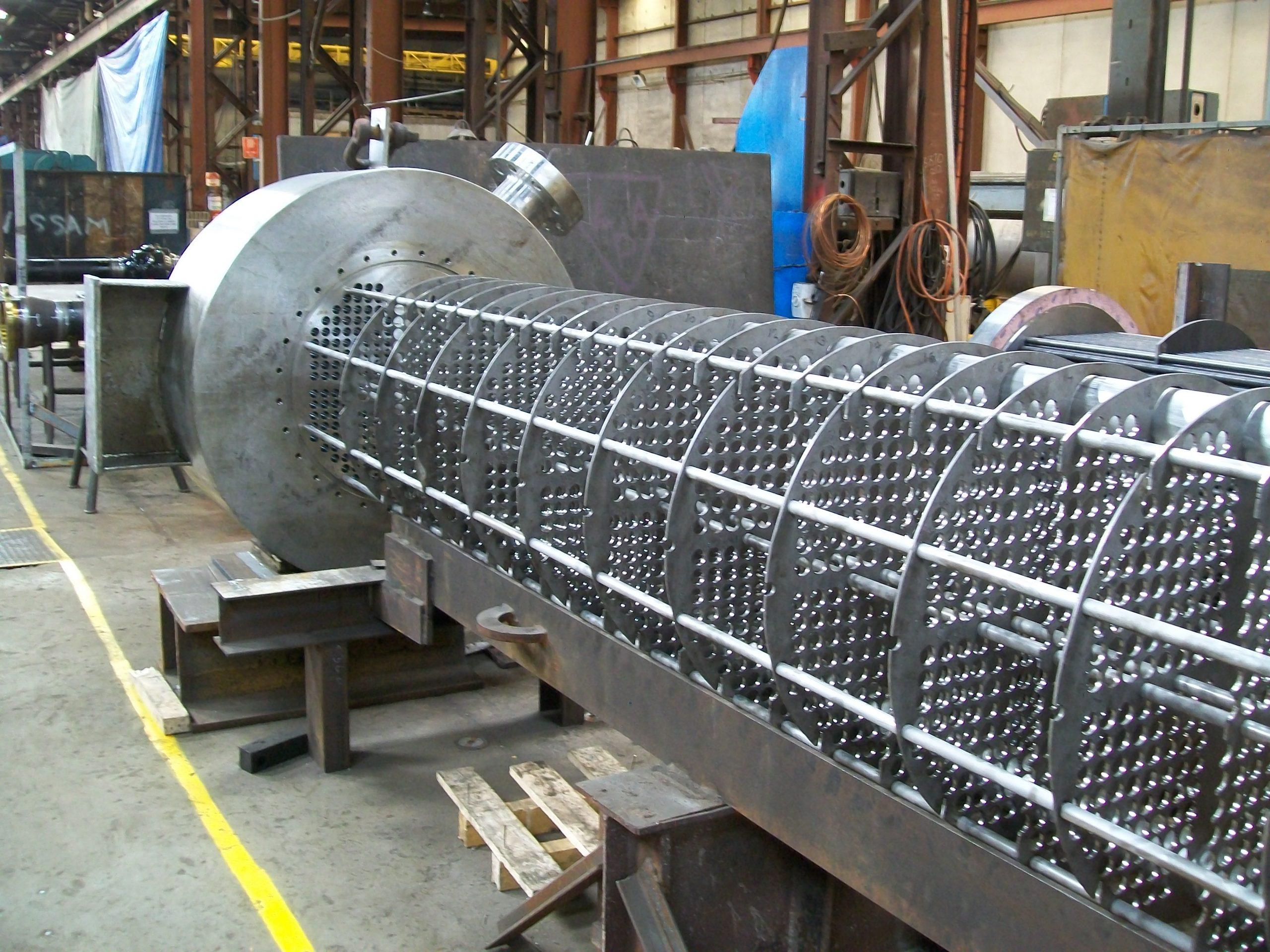 LA2620 - Qld Nickel, Re-tube - 5, Re-assemble bundle ready for tubes (2010-11-18)