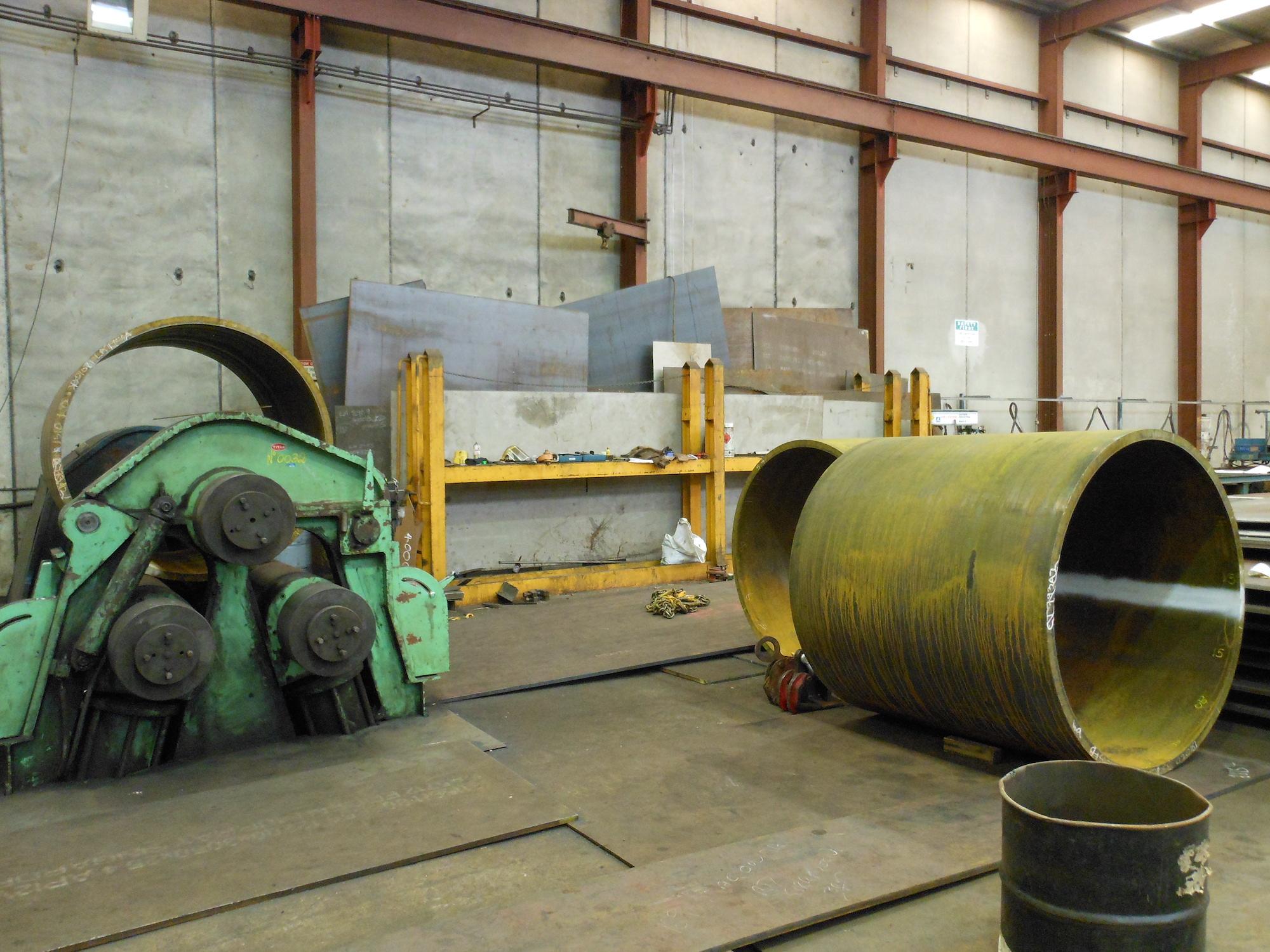 LA2954 - Joy Mining, Barrels for re-rolling (013, 2012-05)