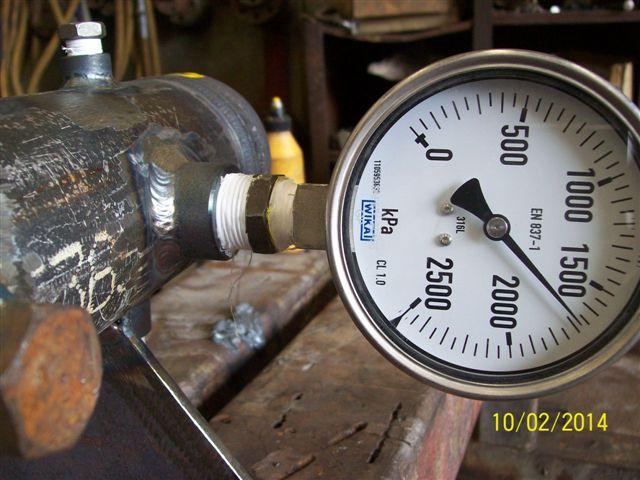 LA3202E - Ind. Air Tools, Hydro test #1 (011, 2014-02-10)