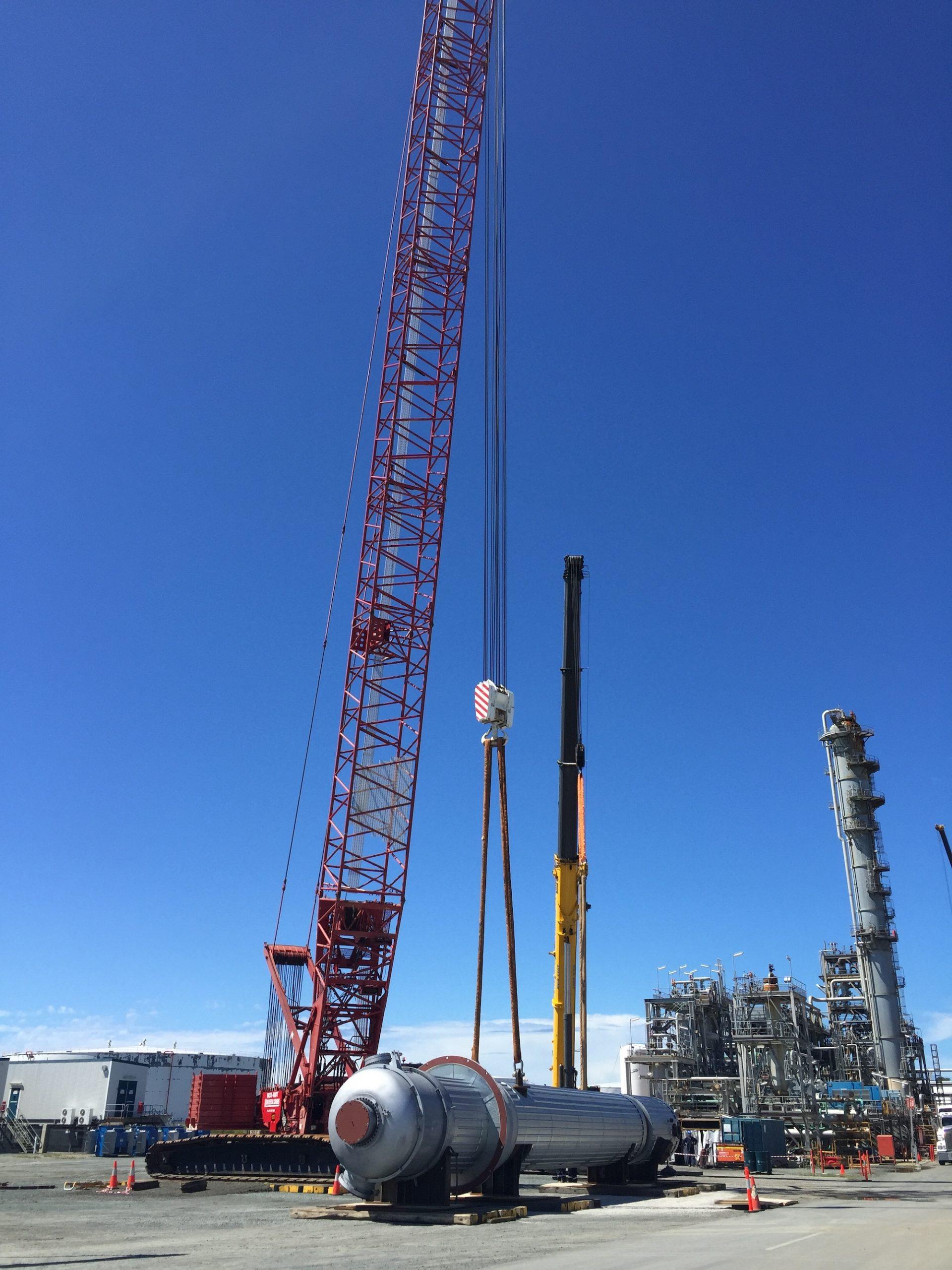 LA3250 - Caltex Texas Tower, Exchanger - 480, Vessel unloaded (480, 2015-03-23)