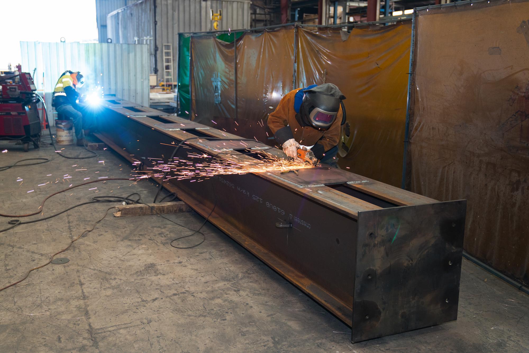 LA3528 - West Connex, Heavy structural - Welding beam #4